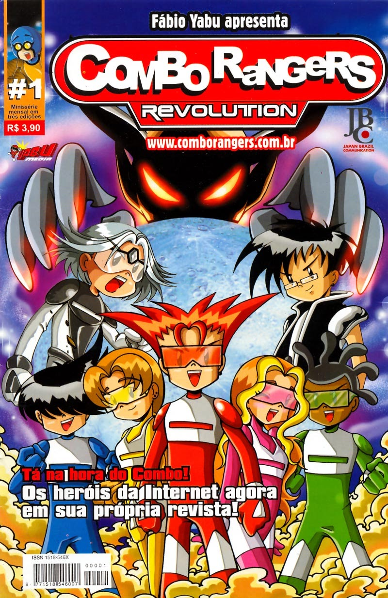 Combo Rangers - Social Comics