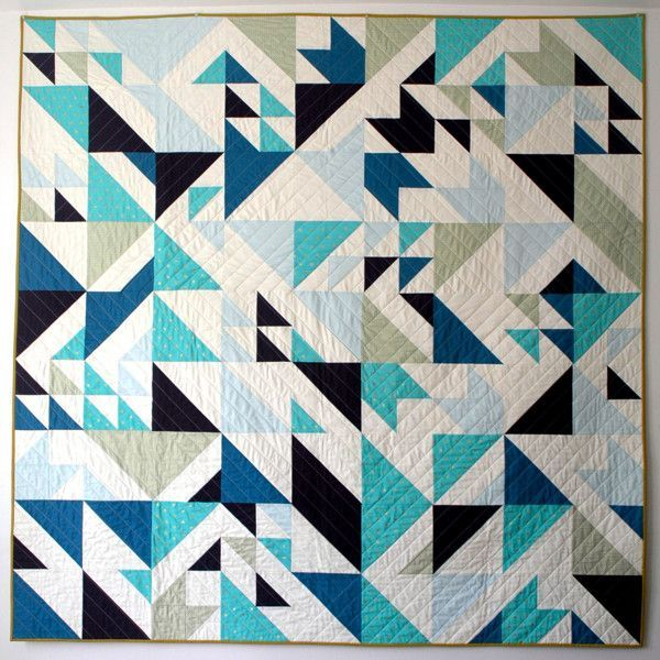 MODERN QUILT PATTERN INSPIRATION | Modern, Inspiration and Black : pictures of modern quilts - Adamdwight.com