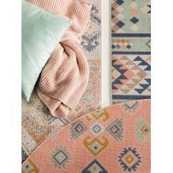 Photo of benuta Trends short pile carpet Luna Multicolor 120×170 cm – modern colorful carpet for living room be