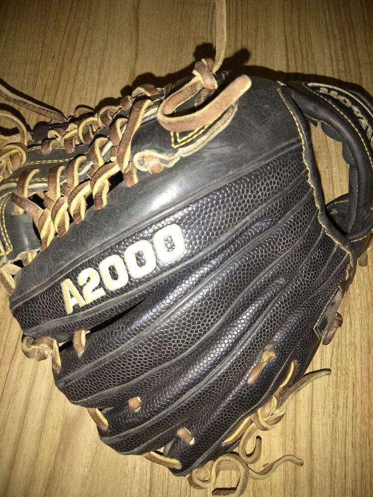 Wilson DKOTIF A2000 Black Baseball Glove 11 1/4 Pro Stock