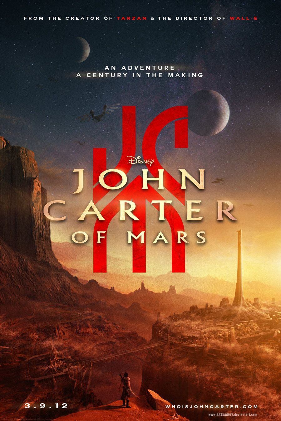 John Carter Of Mars Disney