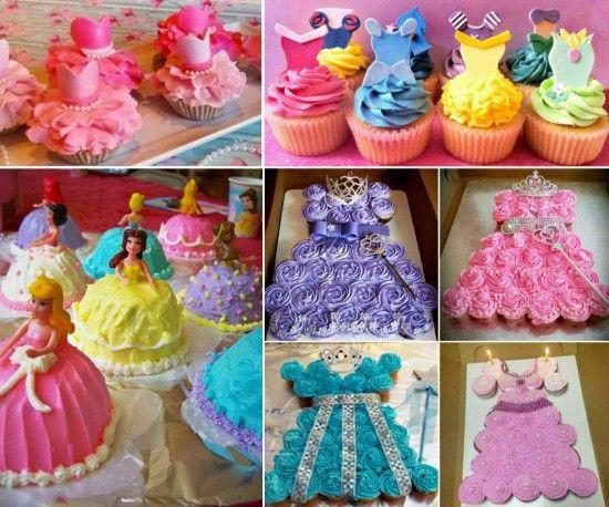 Princess Cupcake Cake Recipe Easy Video Instructions Disney