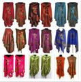 US $7.35 8% OFF New Chinese Women's Pashmina&Silk Double Side Butterfly Scarves Shawl/Scarf Wrap Red/Black/Purple/Blue butterfly scarf scarf shawl women pashmina - AliExpress #scarvesamp;shawls