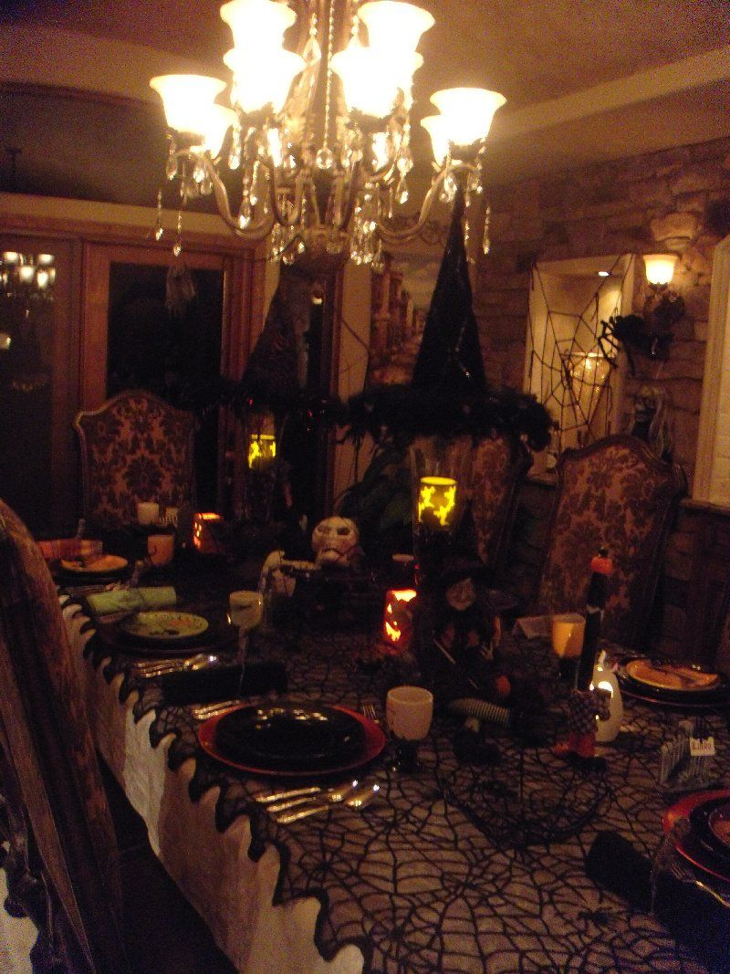 Spooky Halloween Dinner party | Witches, Halloween parties and ...