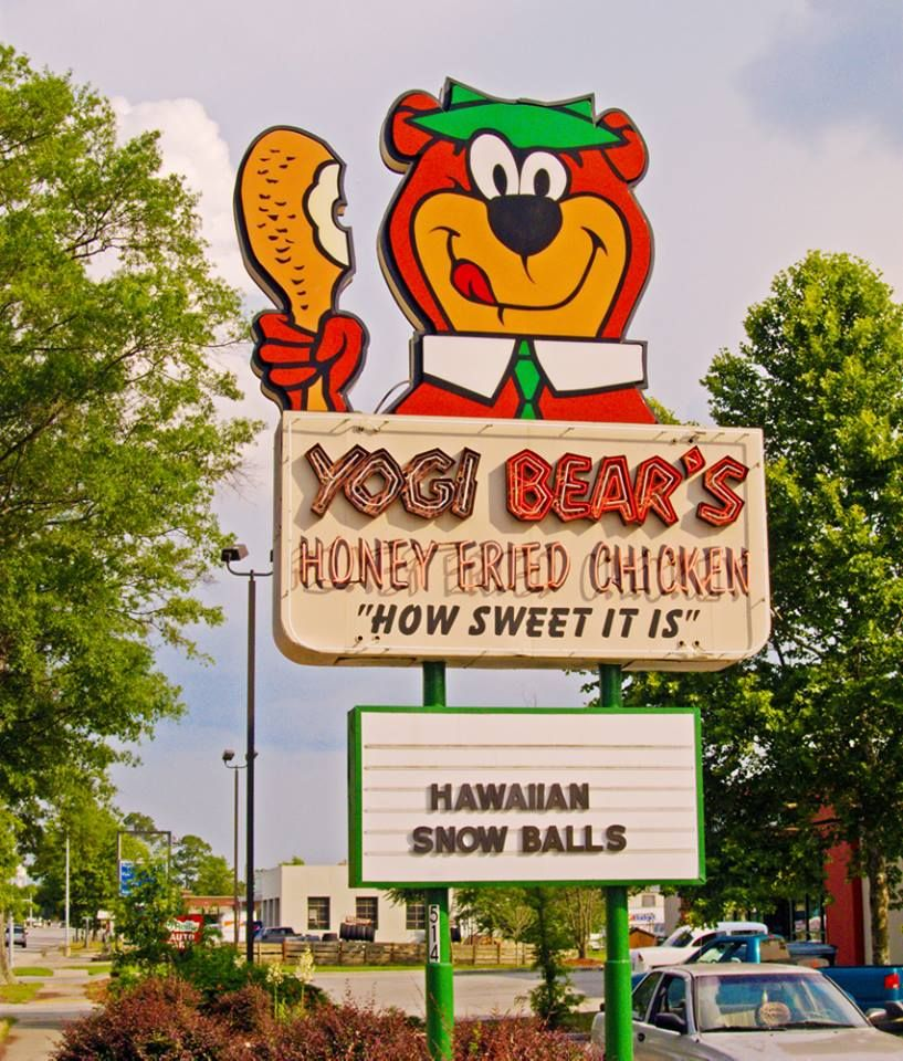 Yogi Bear S Honey Fried Chicken How Sweet It Is