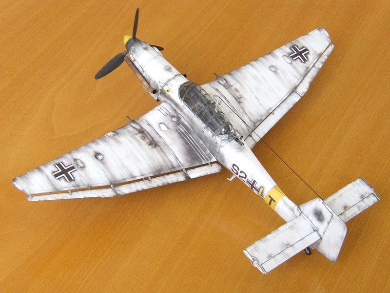 Ju 87 Stuka D3 1 33 Paper Model Maybe Good For Rc 1 16 Conversion Paper Models Aircraft Modeling Paper