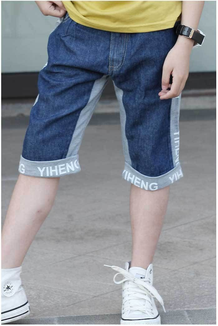 59a8093f9b4 Aliexpress.com   Buy Kids Summer Wear New Boy Jeans Baby Boy Elastic Waist  Short