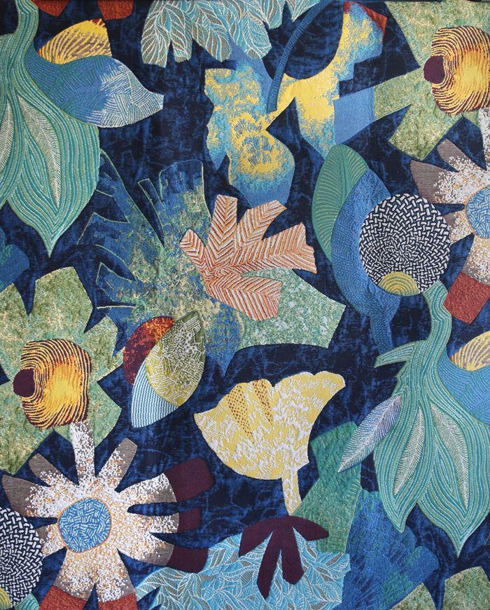 10 tissus fleuris tropical tissu et tissu fleuri. Black Bedroom Furniture Sets. Home Design Ideas