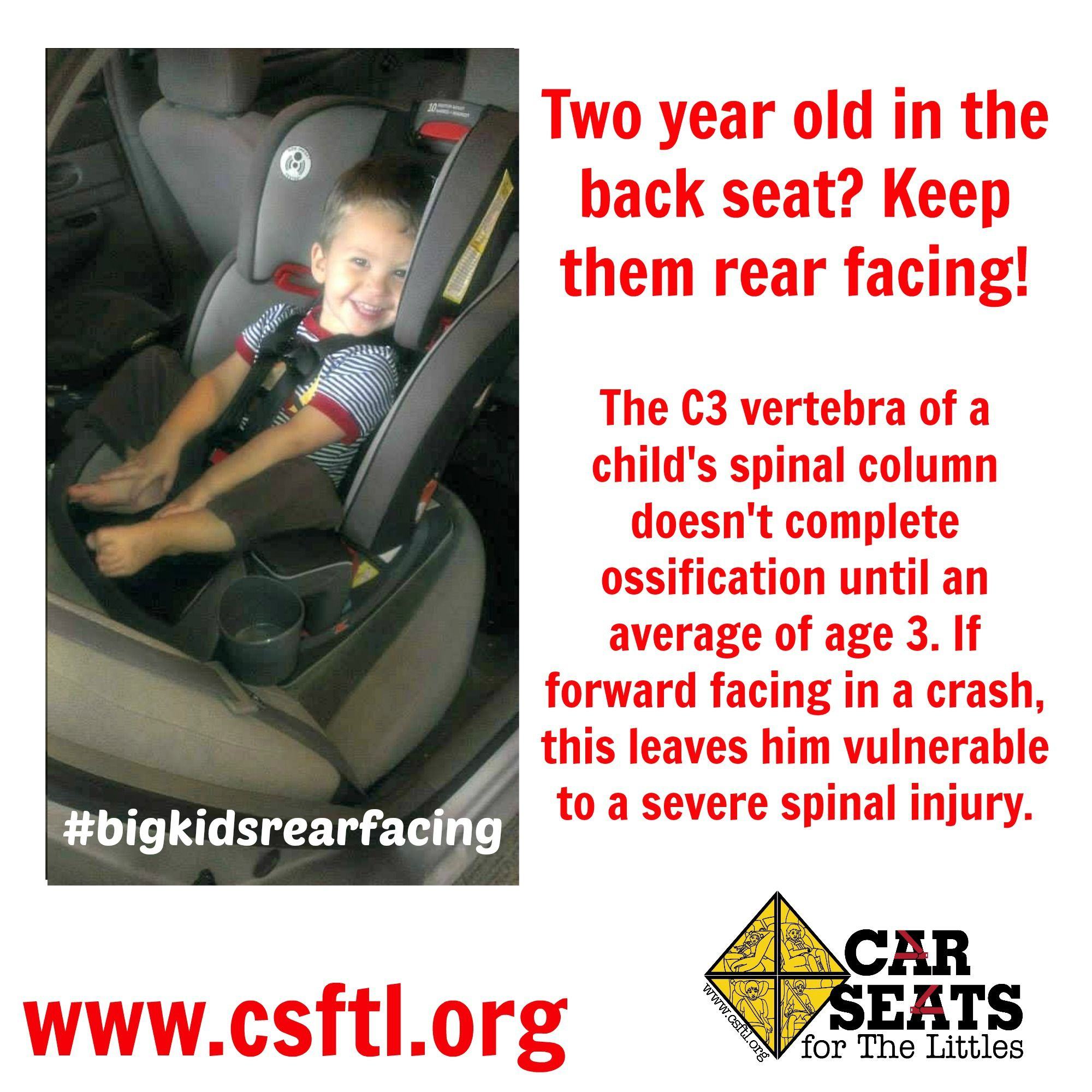 Rear Facing It S That Important Http Csftl Org Why Rear Facing The Science Junkies Guide Child Car Safety Car Seats Carseat Safety
