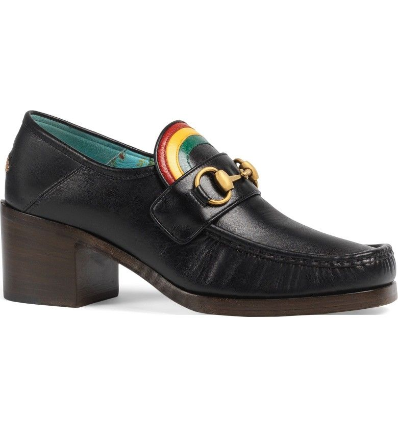 bf1fee7ee9d Main Image - Gucci Vegas Rainbow Loafer (Women)