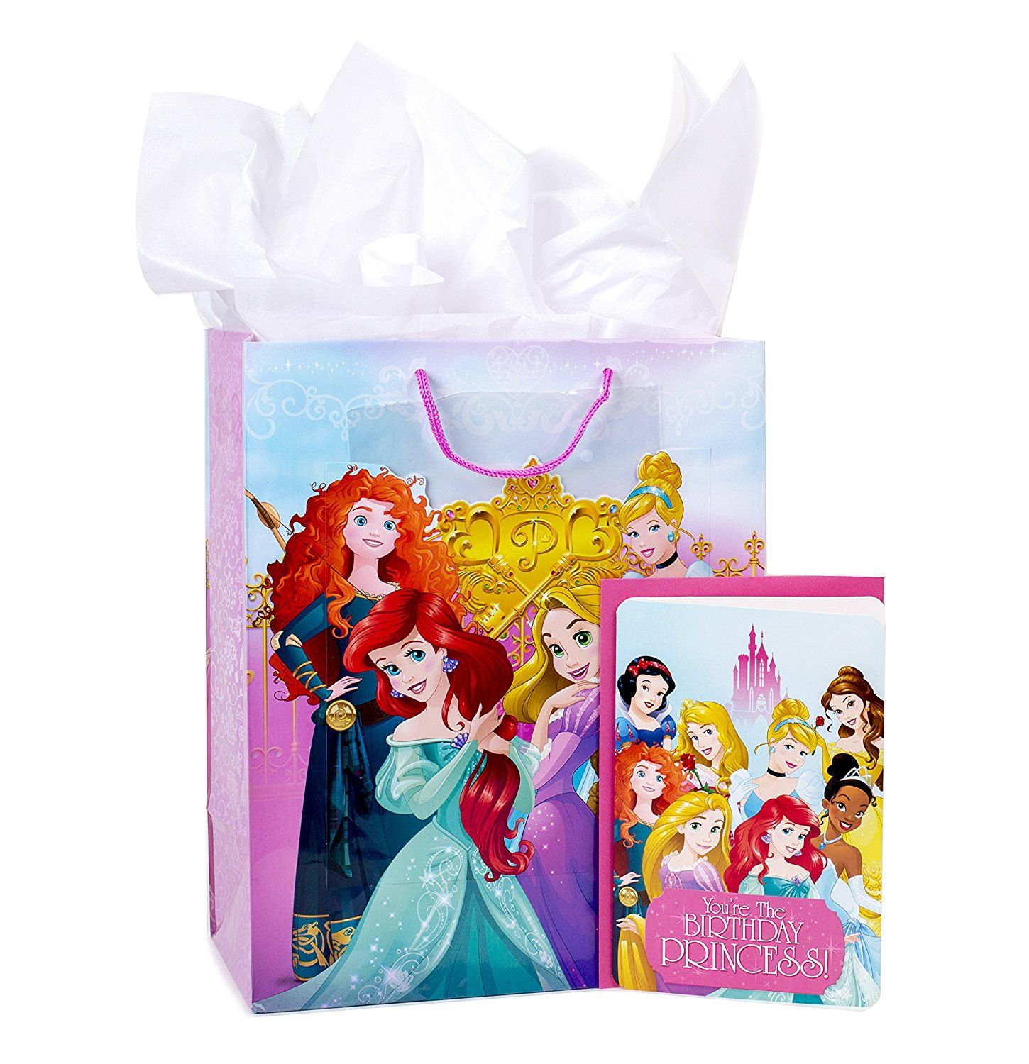 Amazon Hallmark Large Birthday Gift Bag With Card And Tissue Paper Disney