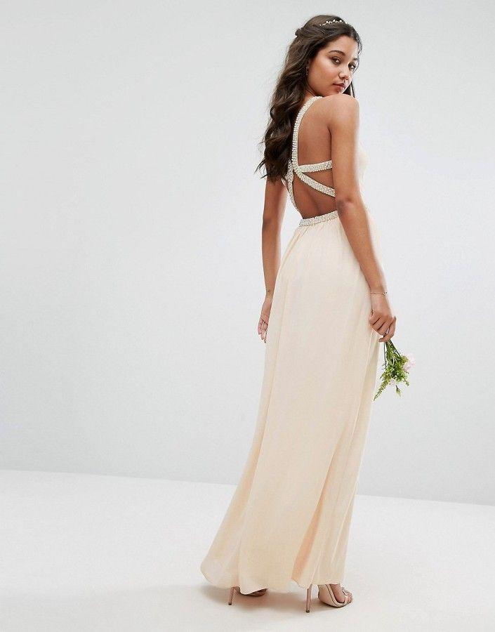 Asos tfnc maxi dress
