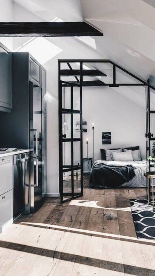 Young Single City Life Interior Design In 2019 Small