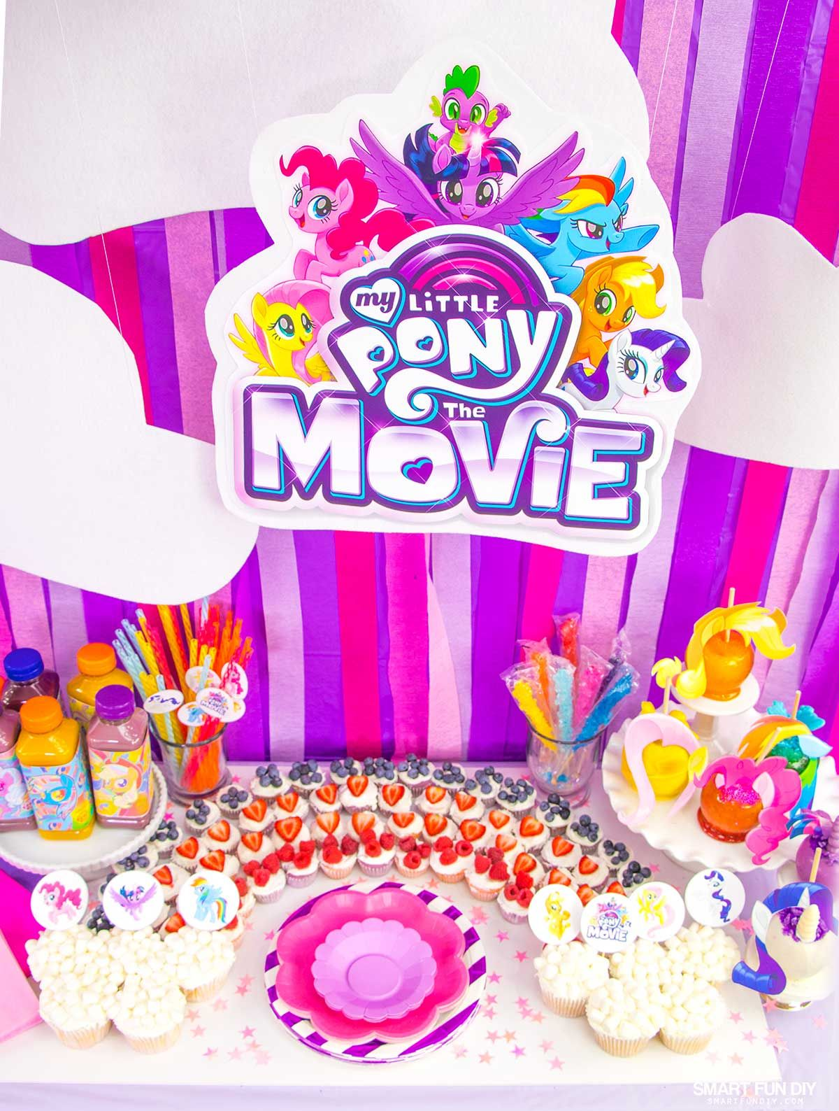 Diy My Little Pony Party My Little Pony The Movie Little Pony