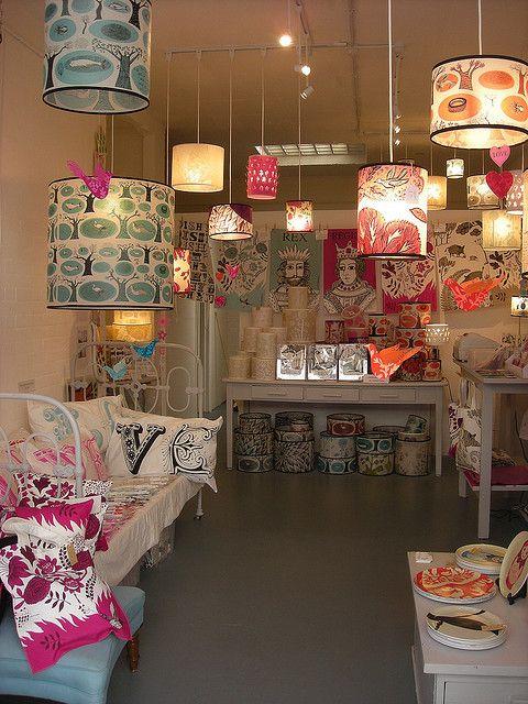 Lush Designs, shop interior, Greenwich Market SE10 9HZ