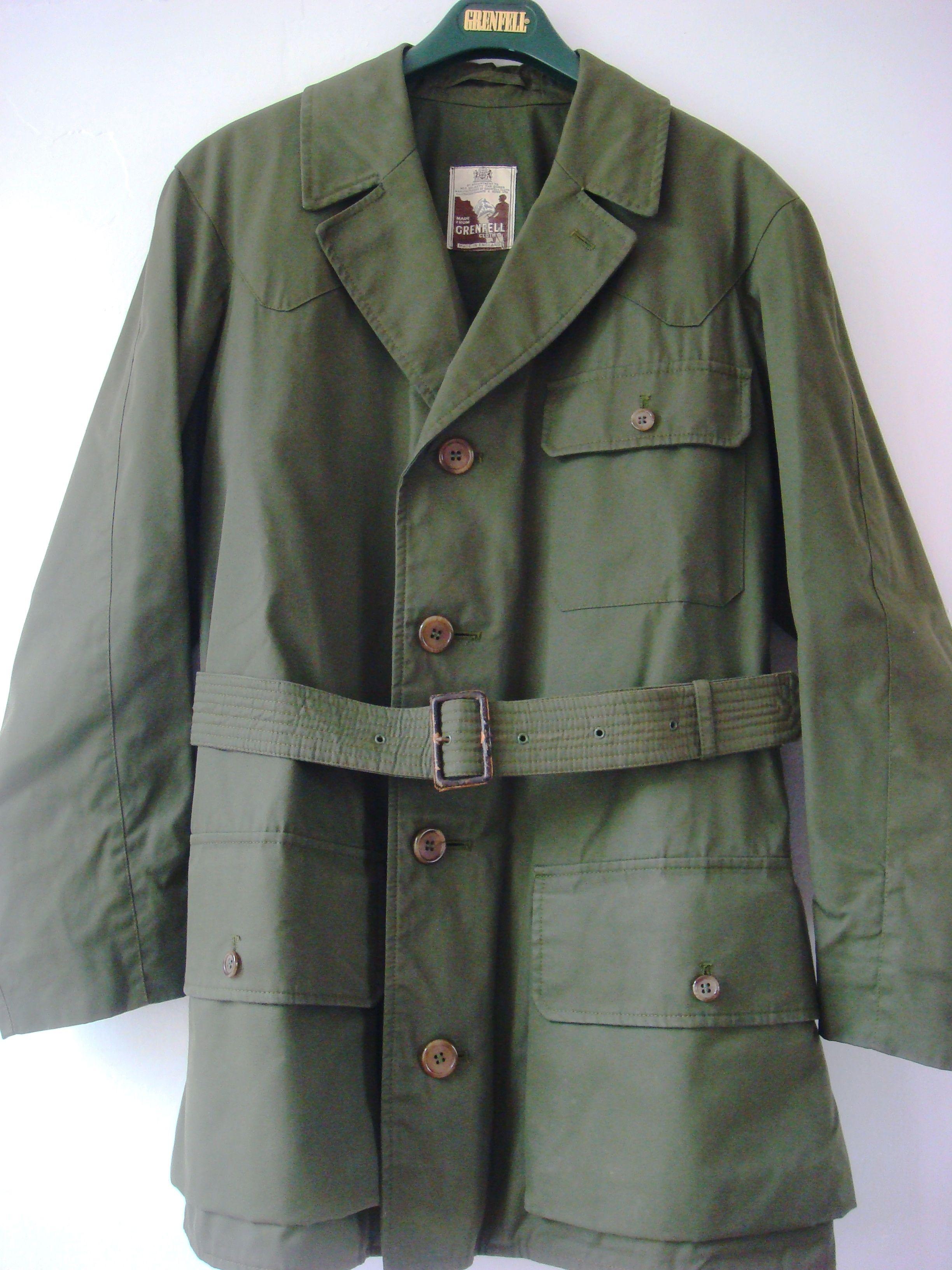 e3d1e9f51779a Mens Vintage English Original Grenfell Cloth Shooter Jacket #affiliate