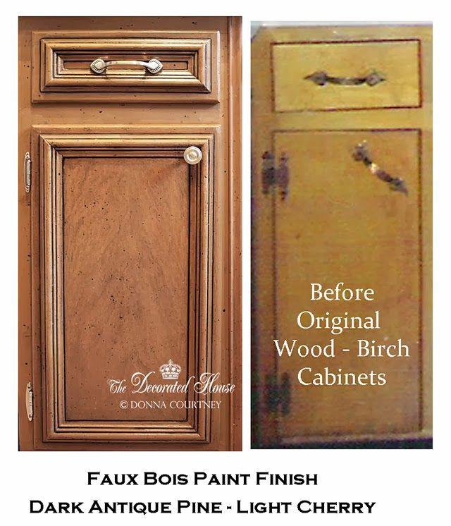 Black Glazed Kitchen Cabinets: ~ How -To: Black Glaze On Kitchen Cabinets Or Wood