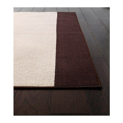 Karby Rug Low Pile Ikea The Anti Slip Backing Keeps The