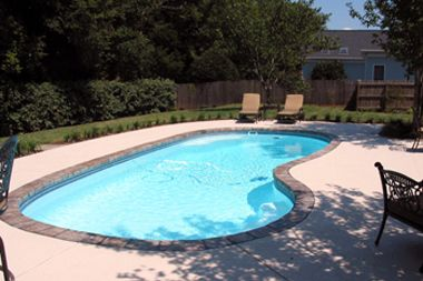 Pictures Of Small To Medium Saltwater Pools Fiberglass Pools