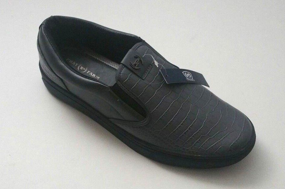 f2f5c5fccca Phat Farm Men's 617826C10G Croc Fashion Casual Shoes Gray Size 12 ...