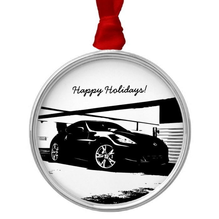 Nissan 370Z Metal Ornament Nissan 370Z Metal Ornament White Things white color 370z