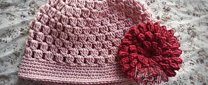 easy crochet hat free pattern patrón gratis   gorritos y capotas ...