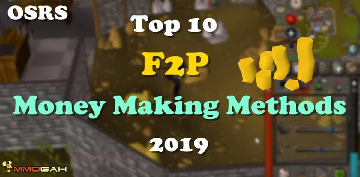 10 Best Osrs F2p Money Making Methods 2019 Old School Runescape