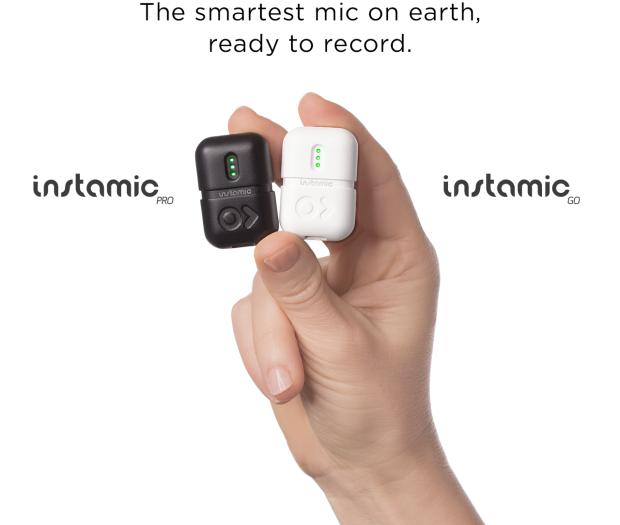 Microfono portatile definito come il GoPro per laudio, ecco Instamic