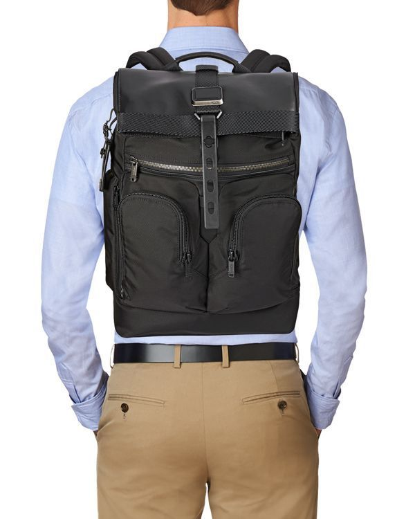 9f587b0d6d3 Tumi Alpha Bravo London Roll-Top Backpack