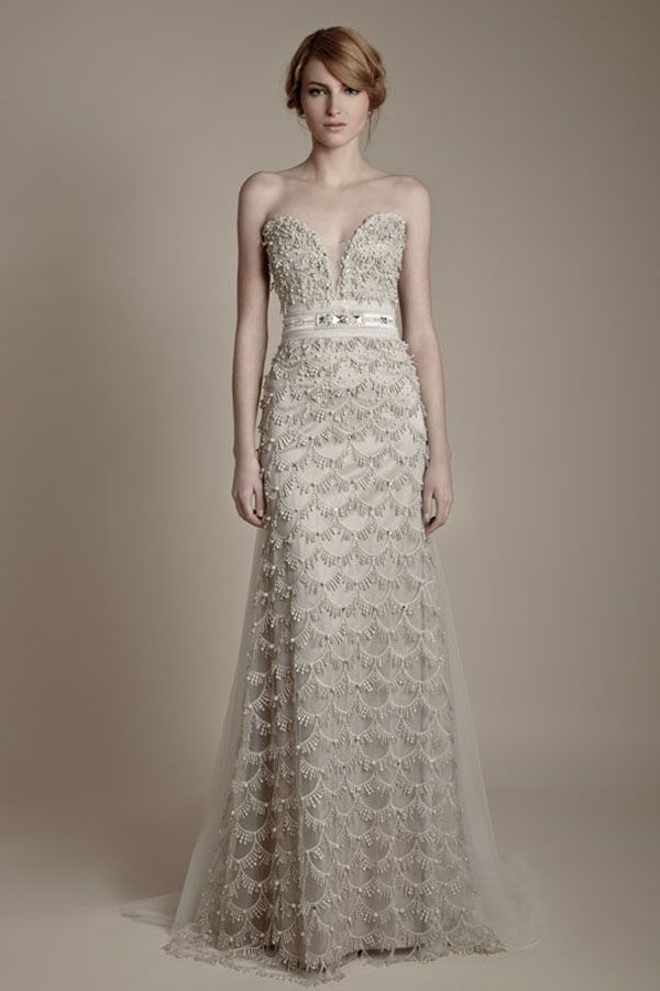 25 Dazzling Art Deco Wedding Gowns | Art deco, Gowns and Weddings