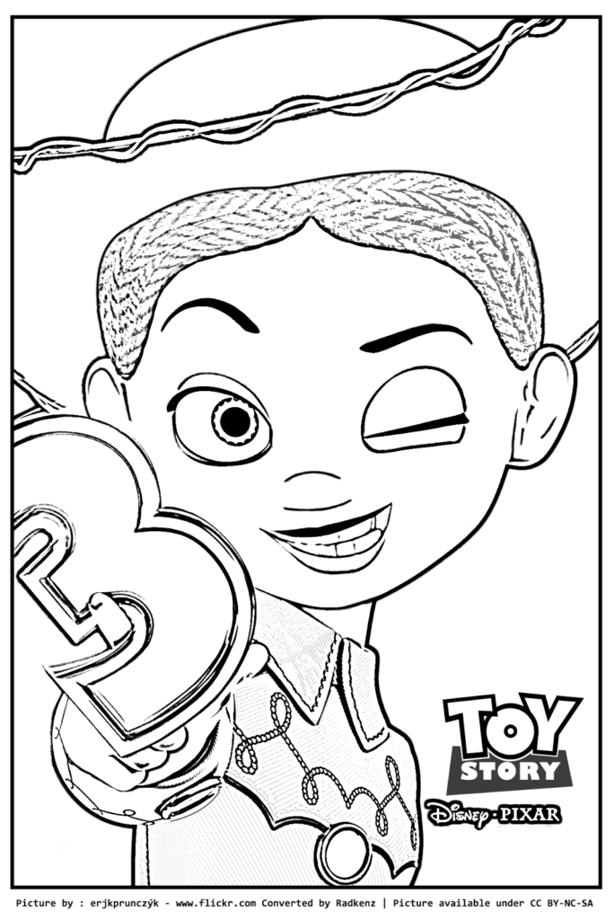Coloring Rocks Toy Story Coloring Pages Coloring Pages Jessie Toy Story