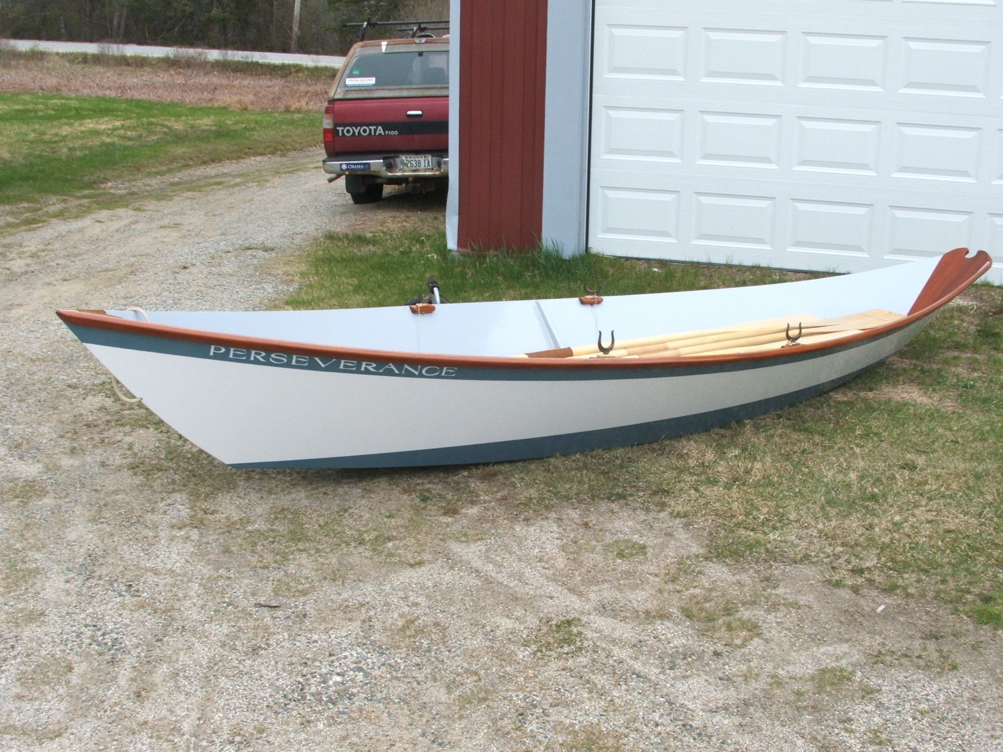 Dynamite Payson Boat Plans : Gloucester light dory designed by phil bolger built from