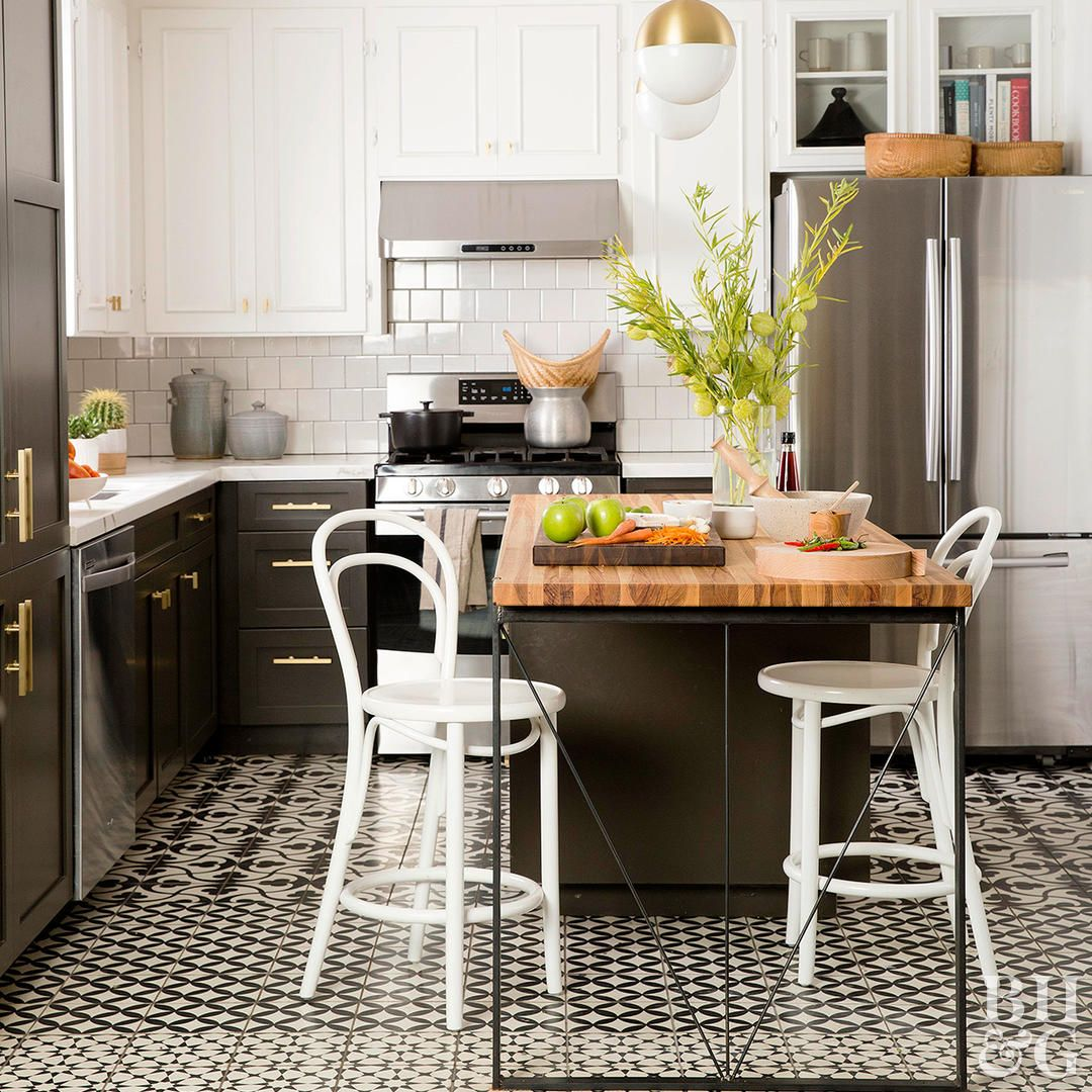 This Is The Best Way To Clean Tile Floors White Kitchen Decor