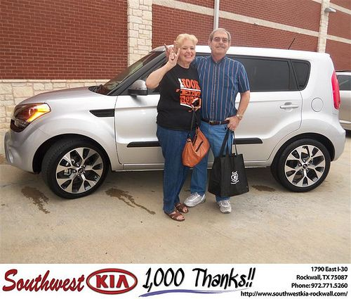 Happy Anniversary to Robert Baker on your 2013 #Kia #Soul from Steven Kravetz and everyone at Southwest KIA Rockwall! #Anniversary