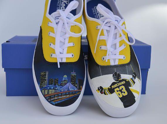 Boston Bruins Hockey Custom Shoes Keds Shanny S Shoes Boston Bruins Hockey Bruins Hockey Keds