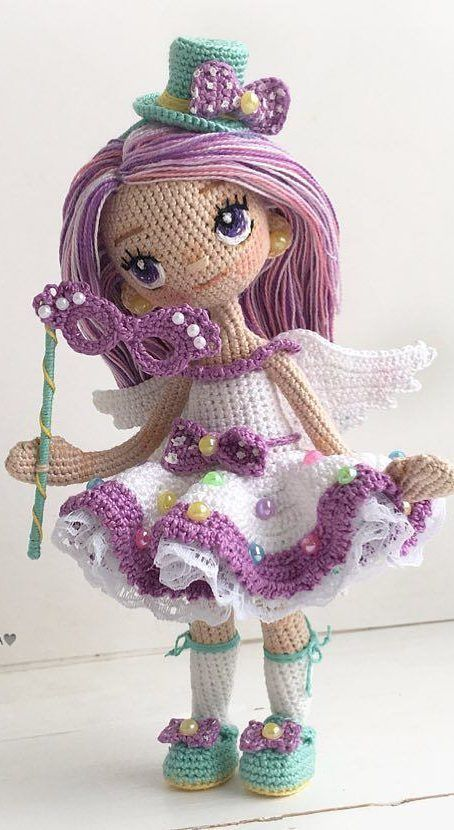 56+ Awesome and Cute Amigurumi Doll Crochet Ideas - Page 22 of 56 - Free Amigurumi Pattern, Amigurumi Blog! #amigurumidoll