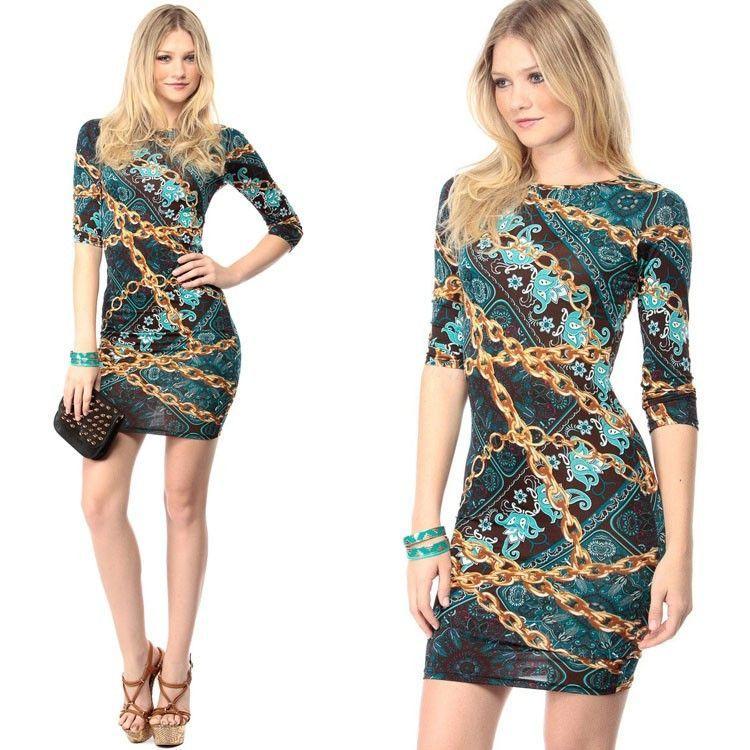 New Summer Women Dresses Slim Dress Package Hip Pencil Vestidos Floral Printed Dress y desigual casuales femininos Alternative Measures