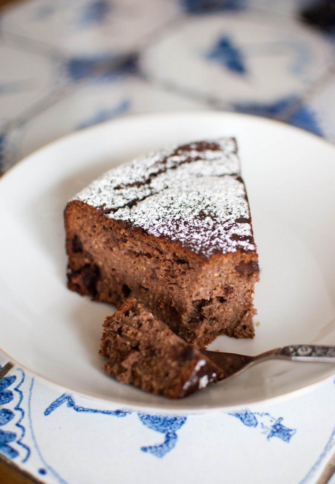Healthy Birthday Cake Almond Hazelnut Orange And Chocolate