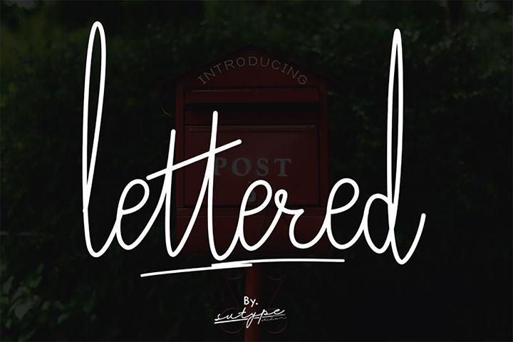 Download Free Demo Lettered Signature Font in 2020   Signature ...