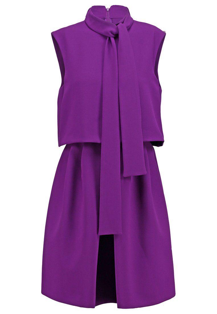 Zalando kleider violett