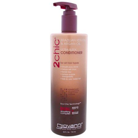 Photo of Giovanni Ultra Sleek Conditioner Brazilian Keratin and Argan
