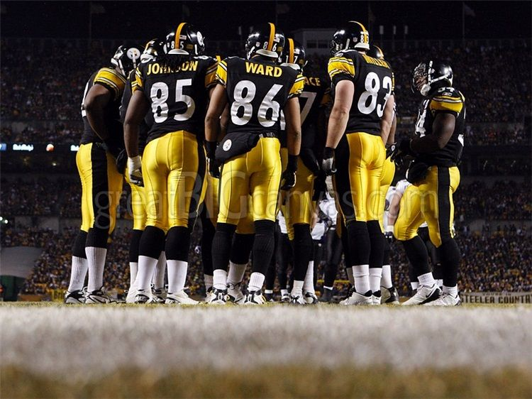 Home Decor Pittsburgh Steelers Huddle At Heinz Field Steelers Football Mancave