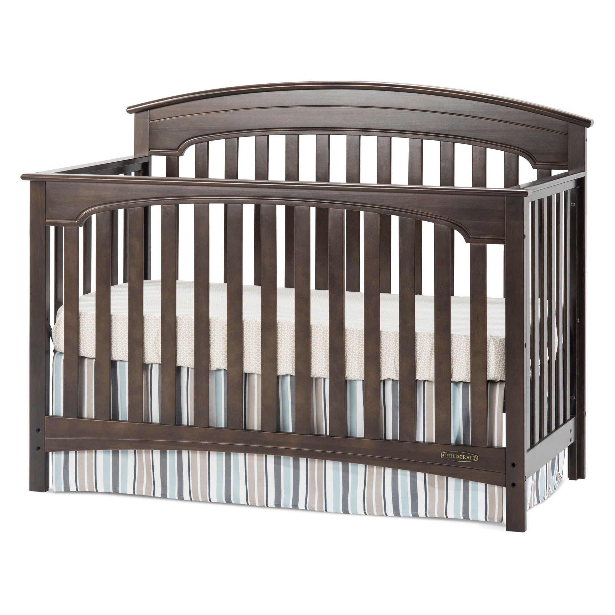 toddler childcraft cribs in for kayden traditional amazoncom bambi craft child slate rail logo crib and convertible guard bed camden