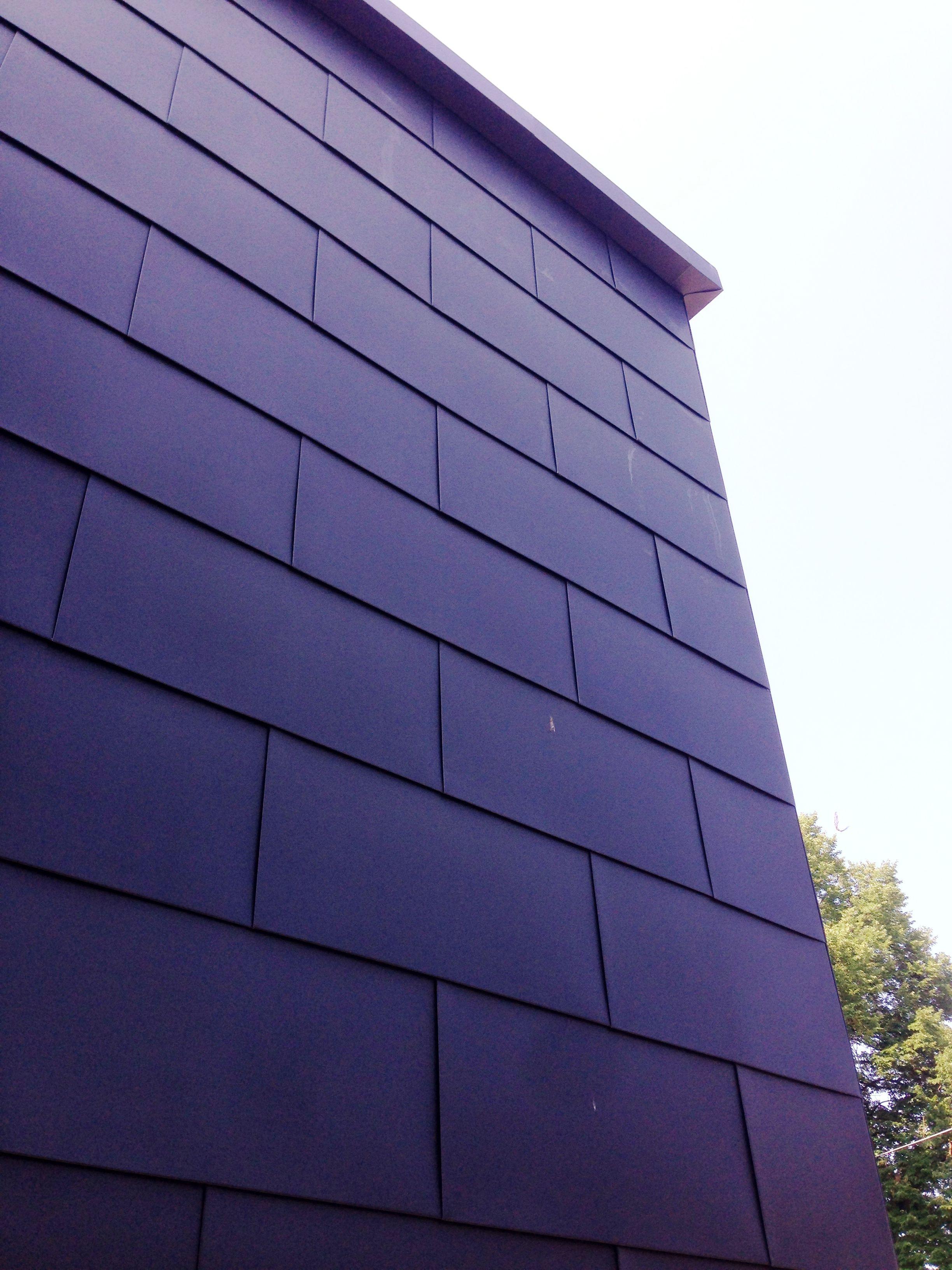 Flat Lock Zinc Wall Panels Exterior Wall Panels Exterior Cladding Standing Seam