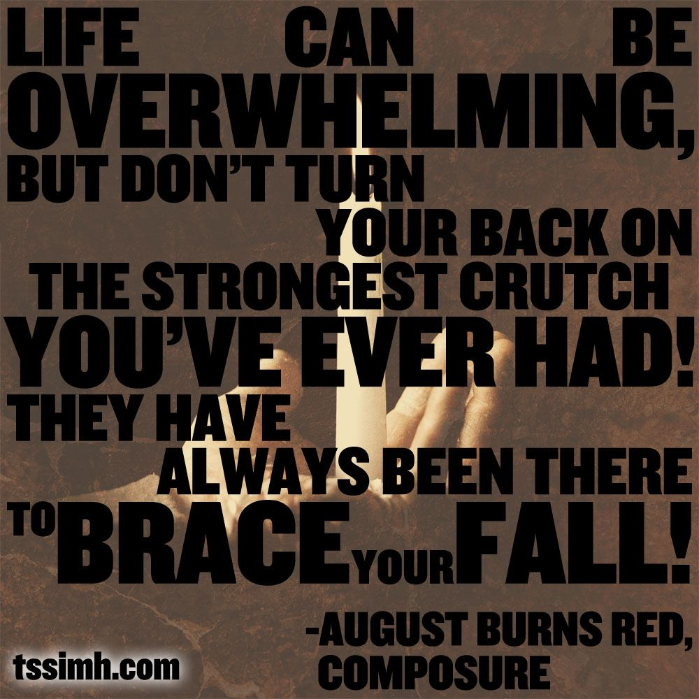 August Burns Red Composure August Burns Red Lyrics To Live By