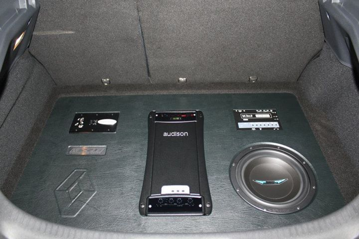Equipment installed in a 2011 Renault Megane RS Car
