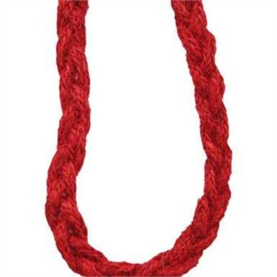 Photo of Rotes Abseilen für Kranz, verdrahtetes rotes Seil, 0,5 Zoll verdrahtetes rotes Seil, Deko-Netzzubehör, Kranzherstellung id