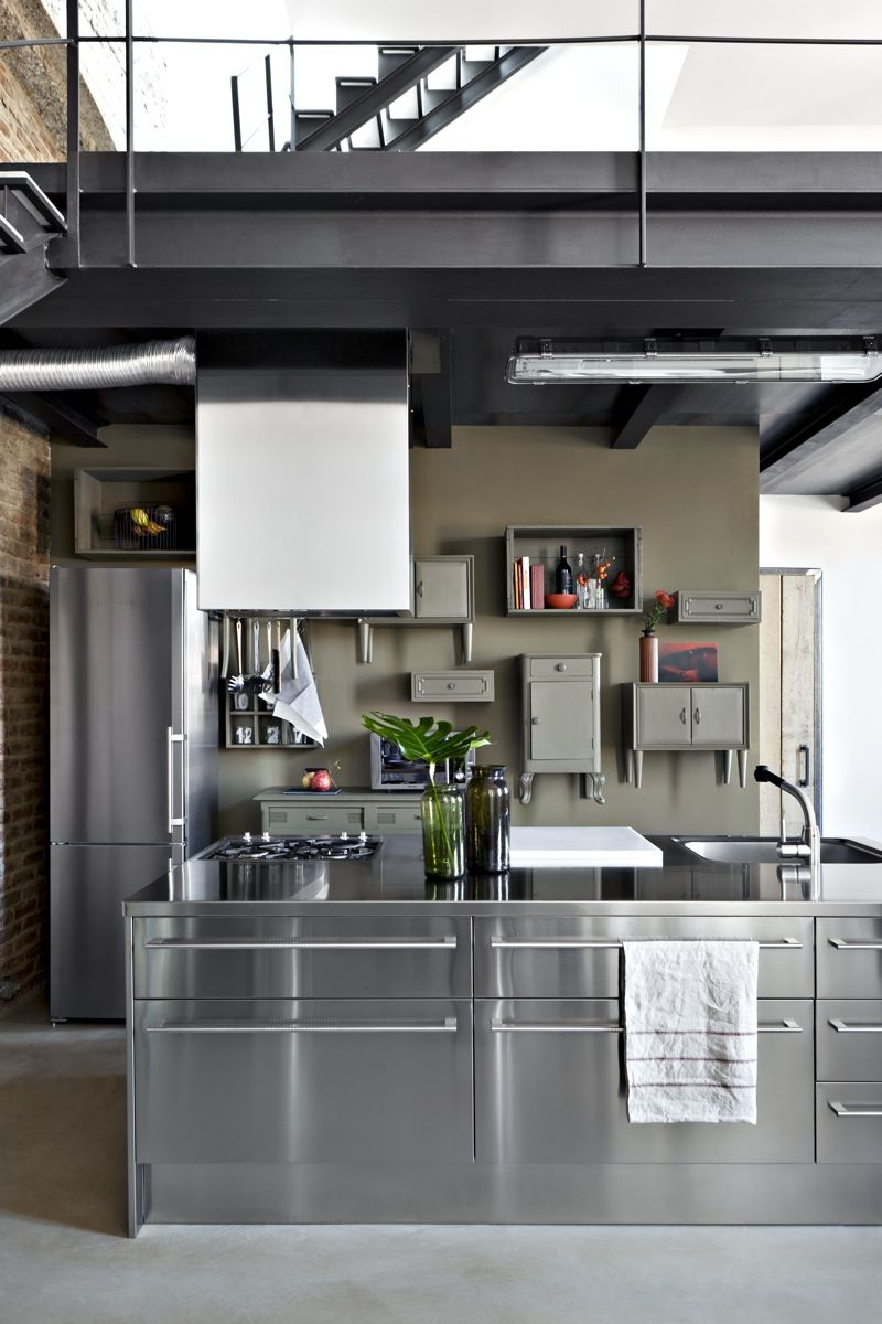 """Idee Per La Cucina i don't like this kind of """"modern""""kitchen, but that old"""