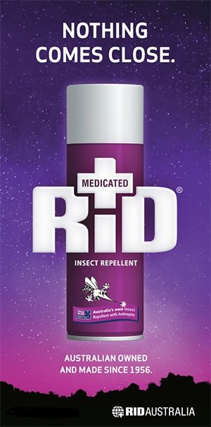 Australian Owned And Made Since 1956 Rid Insect Repellent Stops All Mosquitoes Flies