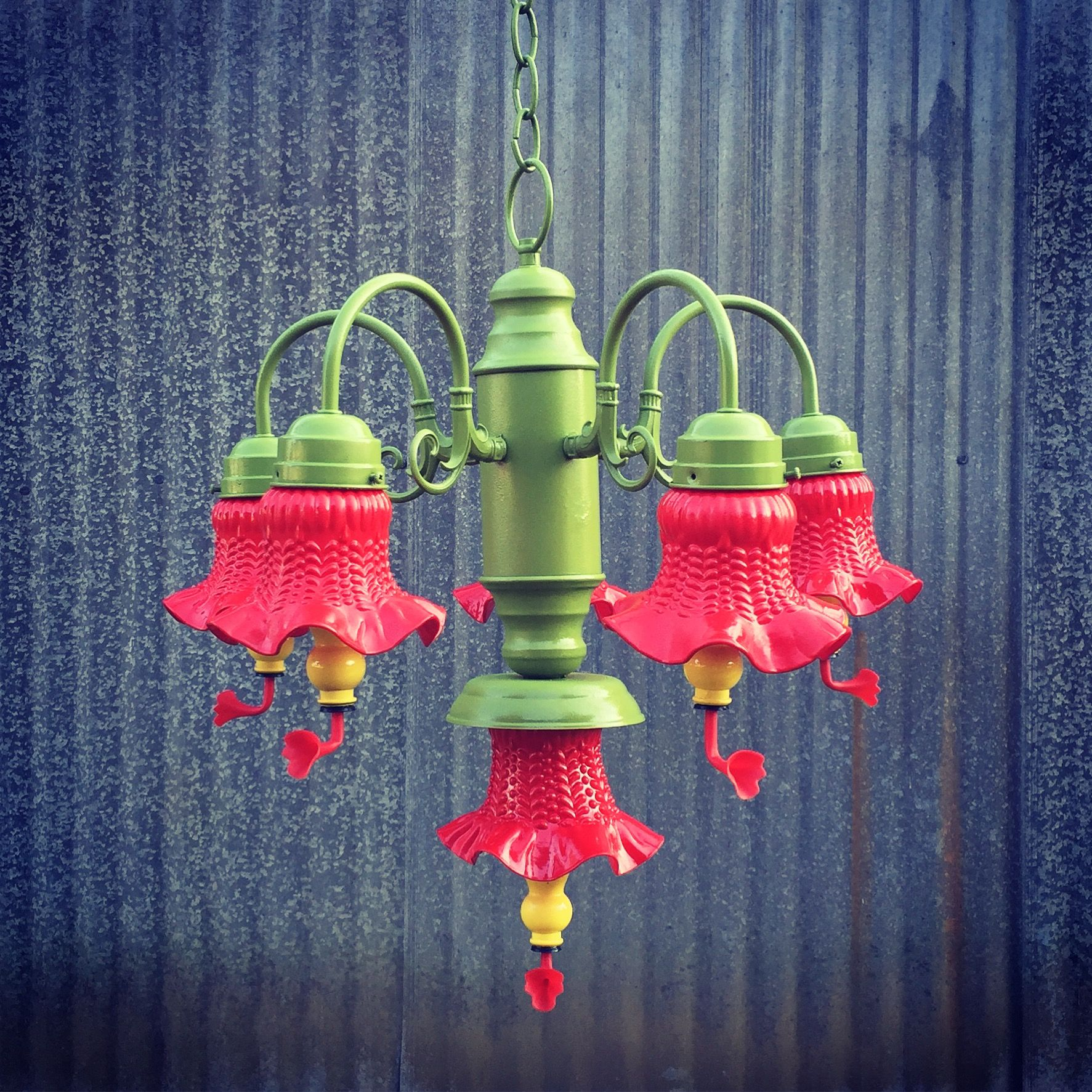 Hummingbird Feeder Chandelier Made By Yours Truly For A Sweet Friend Diyer Humming Bird Feeders Diy Hummingbird Feeder Hummingbird Garden